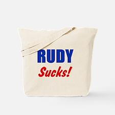 Rudy Sucks Tote Bag