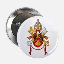 "Papal Coat of Arms 2.25"" Button"