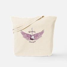 Rock Angel Tote Bag