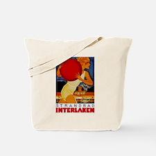 Interlaken Switzerland Travel Tote Bag