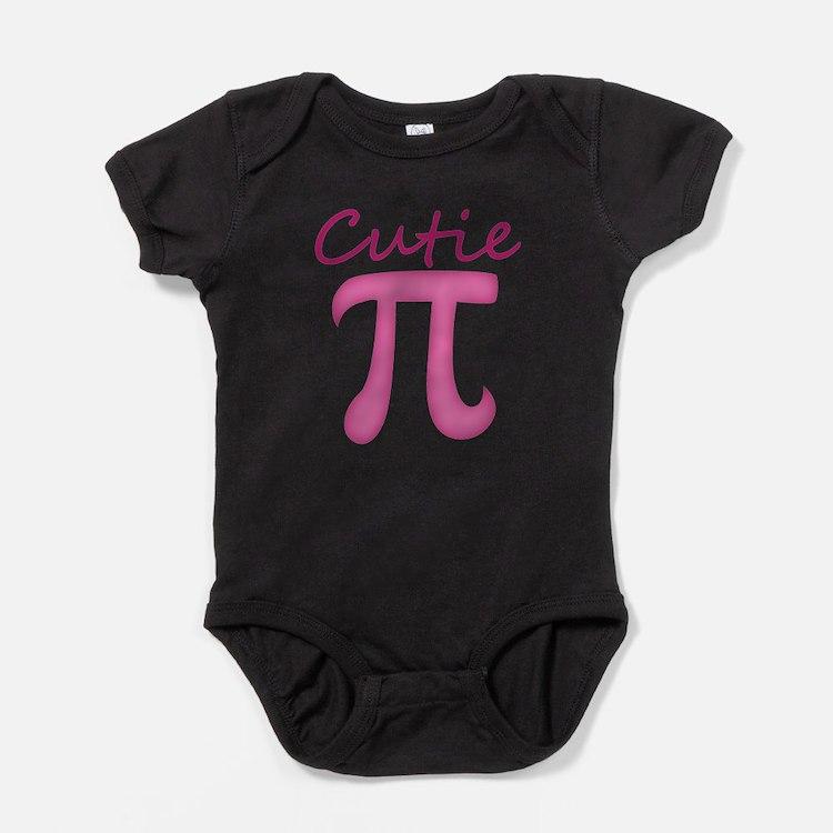 Cute Geek girl Baby Bodysuit