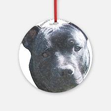 Staffordshire Bull Terrier Keepsake (Round)