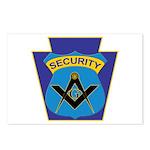 Masonic security guard - Keystone Postcards (Packa