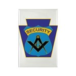 Masonic security guard - Keystone Rectangle Magnet