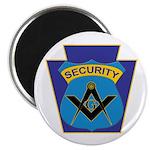 Masonic security guard - Keystone Magnet