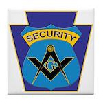 Masonic security guard - Keystone Tile Coaster