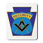 Masonic security guard - Keystone Mousepad