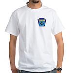 Masonic security guard - Keystone White T-Shirt