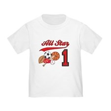All-Star Sports First Birthday T