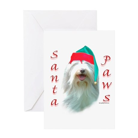 Bearded Paws Greeting Card