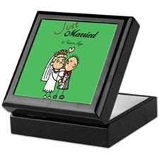 Cute 10th anniversary Keepsake Box