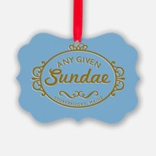 Any Given Sundae Ornament