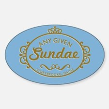 Any Given Sundae Decal