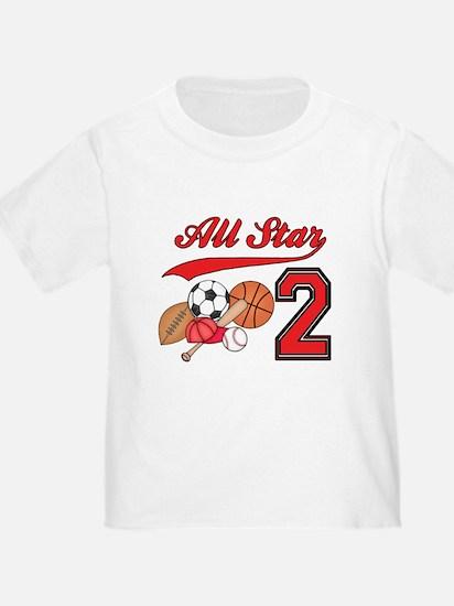 AllStar Sports 2nd Birthday T