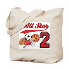 AllStar Sports 2nd Birthday Tote Bag