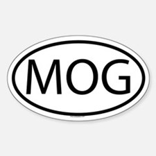 MOG Oval Decal
