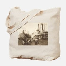 Paddle Wheel Longshoremen Tote Bag