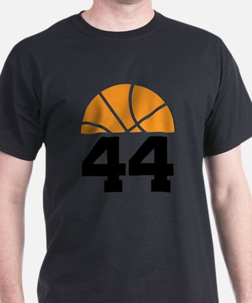 Basketball Number 44 Player Gif T-Shirt