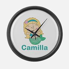 Camilla's Large Wall Clock