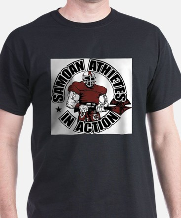 Samoan Atheletes In Action T-Shirt
