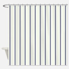 Classic Viennese Stripes Shower Curtain