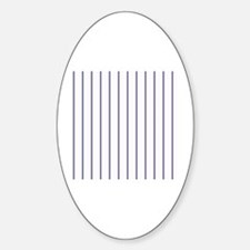 Unique Coordinates Sticker (Oval)