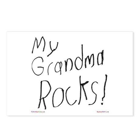 My Grandma Rocks ! Postcards (Package of 8)