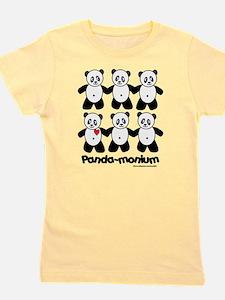 Unique Panda bears Girl's Tee