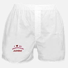 I Love My Granddaughter Jasmi Boxer Shorts