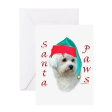 Bichon Paws Greeting Card