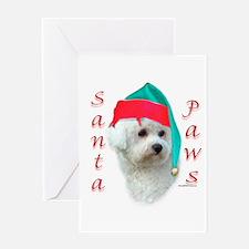 Bichon Paws Greeting Card