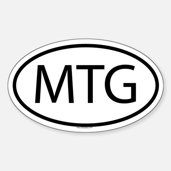 MTG Oval Decal
