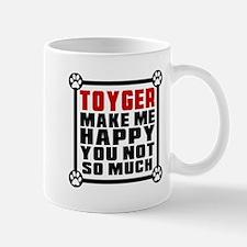 Toyger Cat Make Me Happy Mug