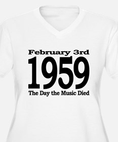 The Day the Music Died February 3rd 1959 Plus Size