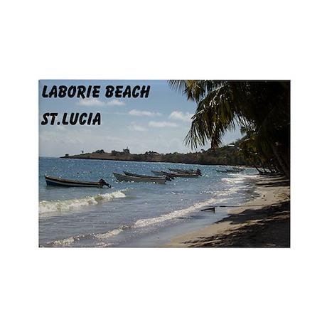 Laborie Beach in St. Lucia Magnet