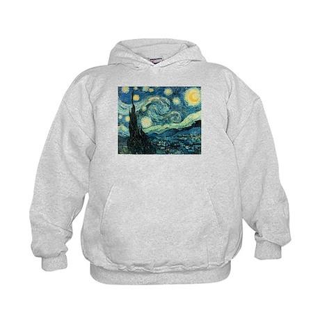 Vincent van Gogh's Starry Night Kids Hoodie