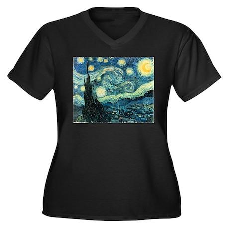 Vincent van Gogh's Starry Night Women's Plus Size