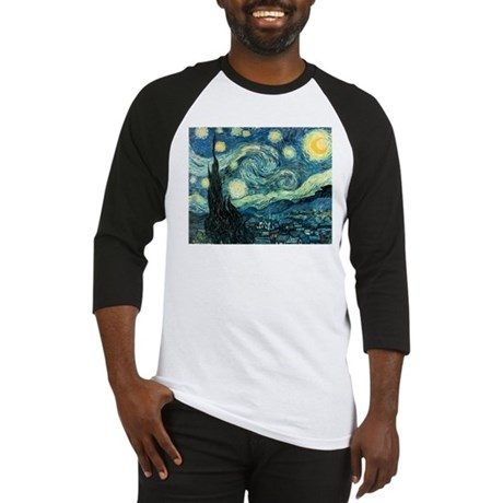 Vincent van Gogh's Starry Night Baseball Jersey