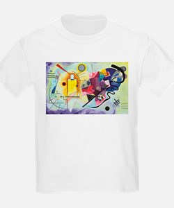 Yellow, Red and Blue by Kandinsky T-Shirt