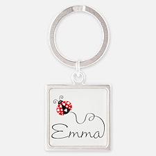 Ladybug Emma Keychains