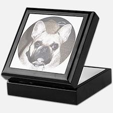 French Bulldog Keepsake Box