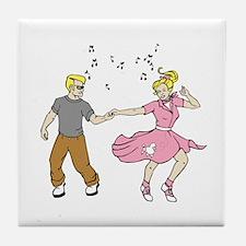 50's Dance Tile Coaster