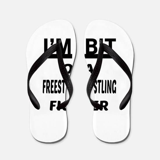 I am bit of a Freestyle Wrestling Fight Flip Flops