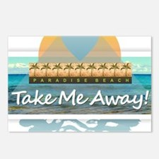 Take Me Away Postcards (Package of 8)