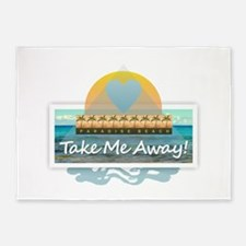Take Me Away 5'x7'Area Rug