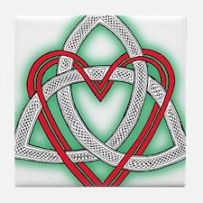 Heart of God Tile Coaster