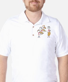 String Quartet 2 Golf Shirt