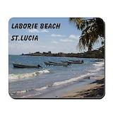 Saint lucia Mouse Pads