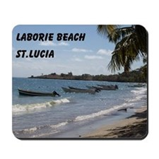 Laborie Beach in St. Lucia Mousepad