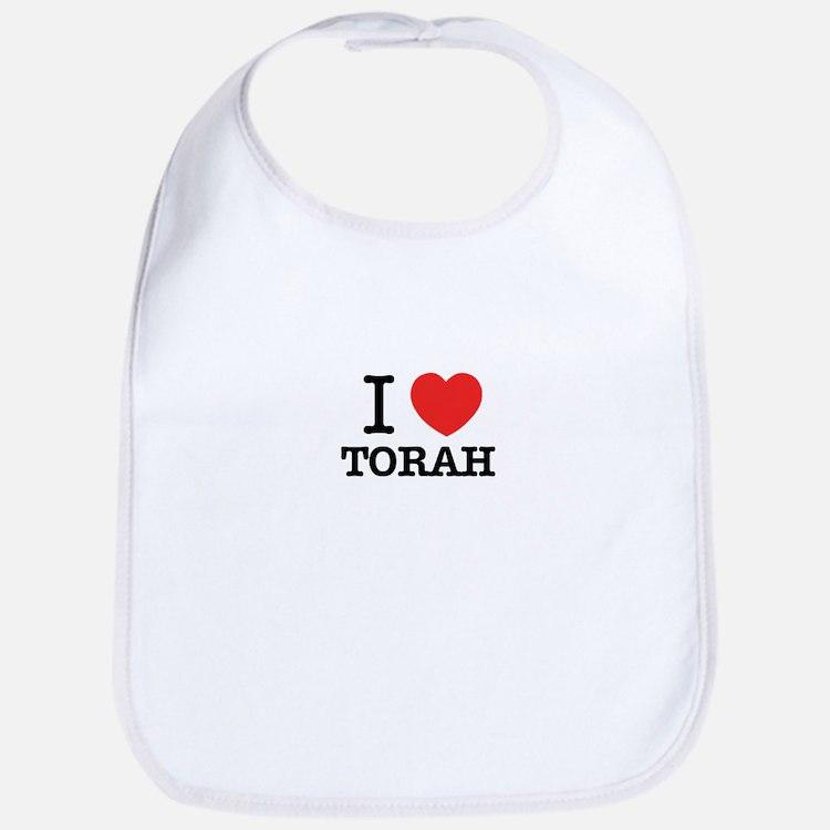 I Love TORAH Bib